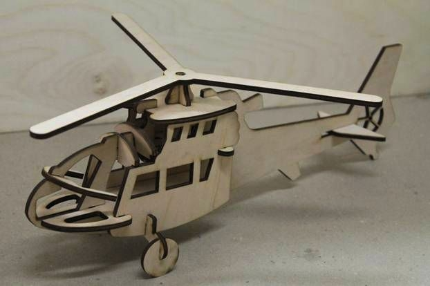 3D пазл Вертоліт.JPG