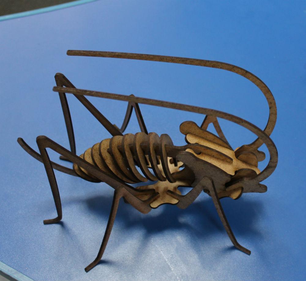 3D пазл Коник стрибунець