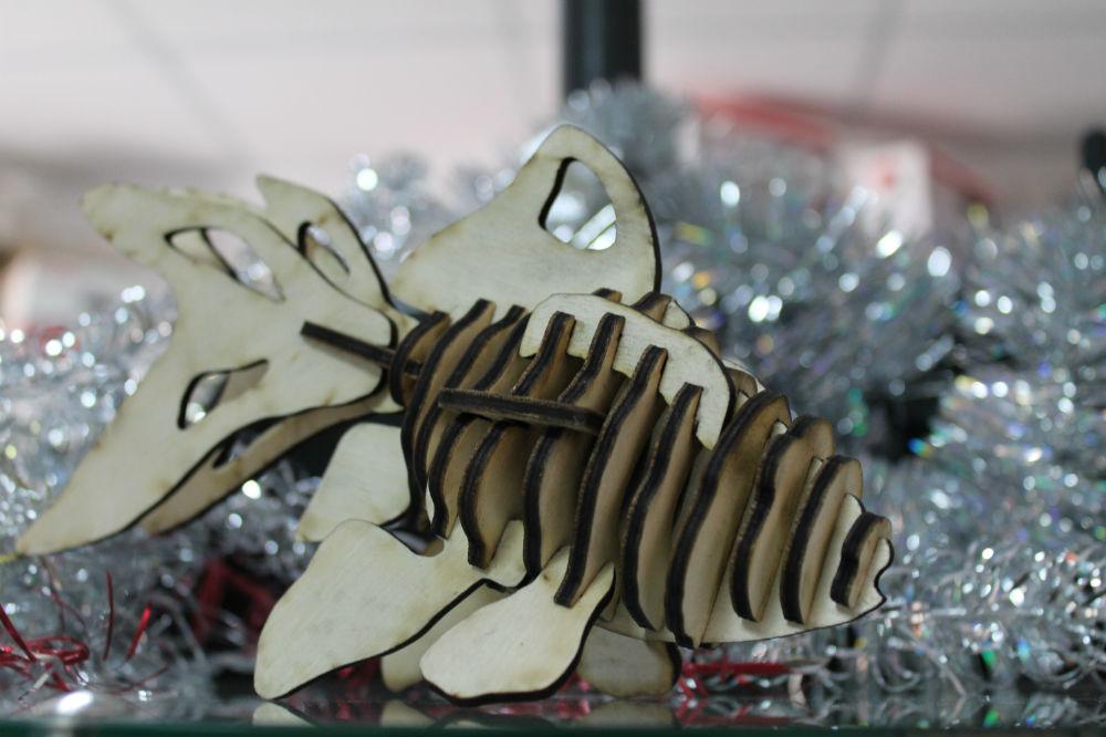 3D пазл Рибка