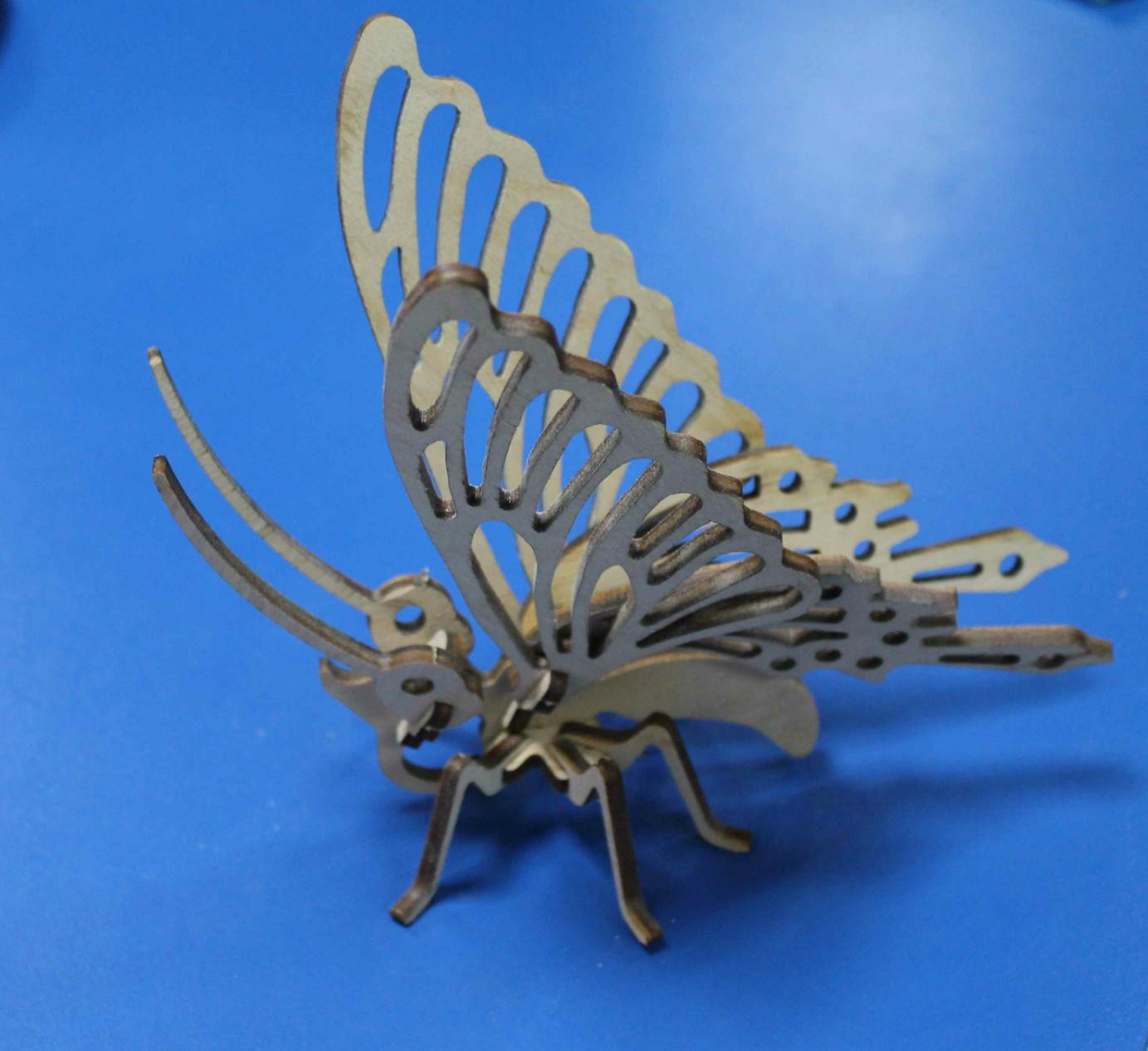 3D пазл Метелик