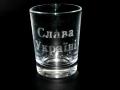 Лазерна гравіровка на стакані